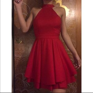 Worn Once Stunning Red Dress